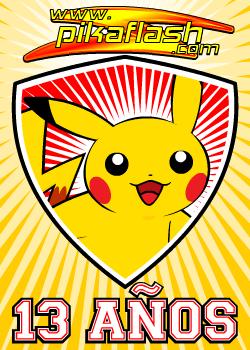 Pikaflash Pokemon Pikachu - 11 Aniversario